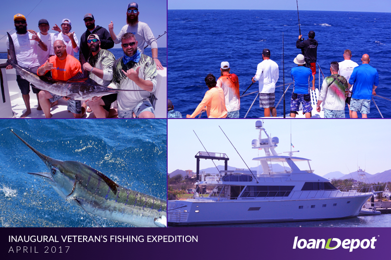 loanDepot CEO Anthony Hsieh takes Freedom Alliance veterans to Cabo San Lucas