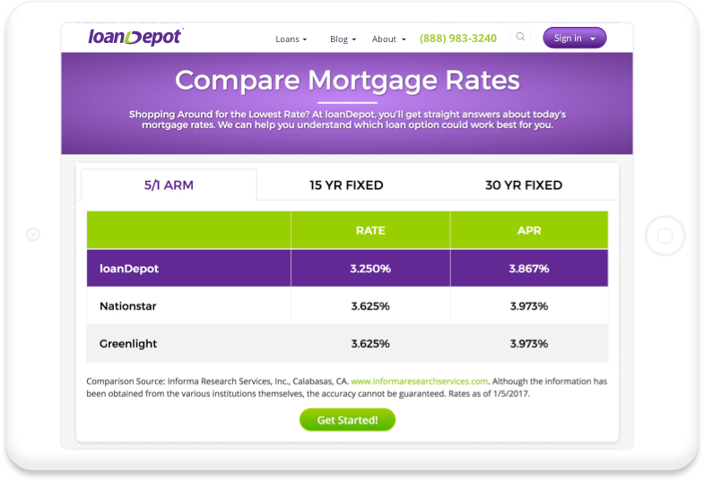 loanDepot | Home Mortgage, Refinance, Equity, and Personal Loans