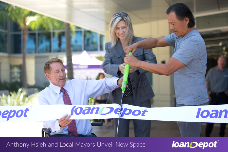 Foothill Ranch Ribbon-cutting Moment