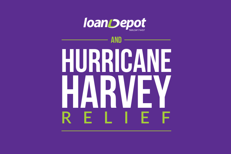 loandepot Hurricane Harvey Relief Efforts 2