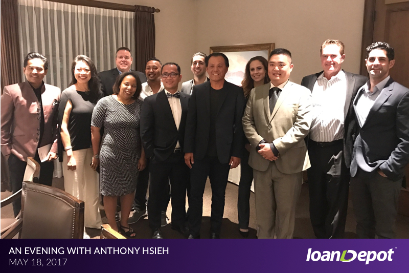 An Evening with Anthony Hsieh Dinner Event