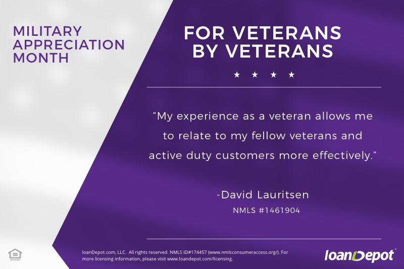 David Lauritsen Military Appreciation Month