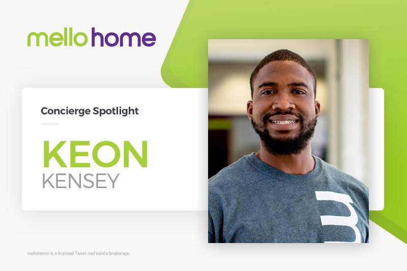 mellohome Concierge Spotlight Keon Kensey