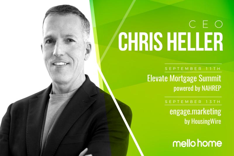 Chris Heller Fall Speaking Engagements