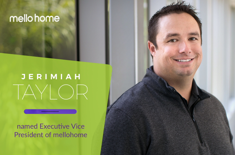 Jerimiah Taylor EVP Announcement