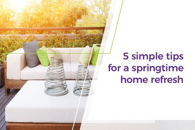 5 simple tips for a springtime home refresh