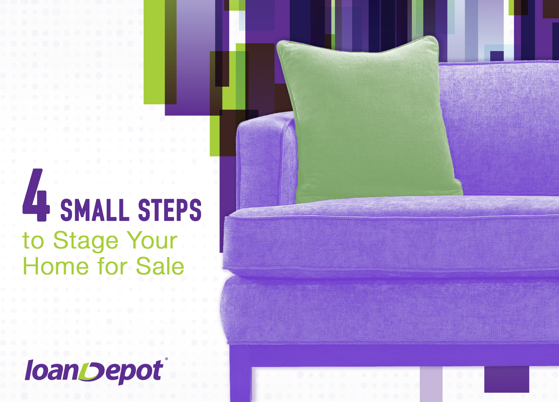 4 Small Steps to Stage Your Home for Sale
