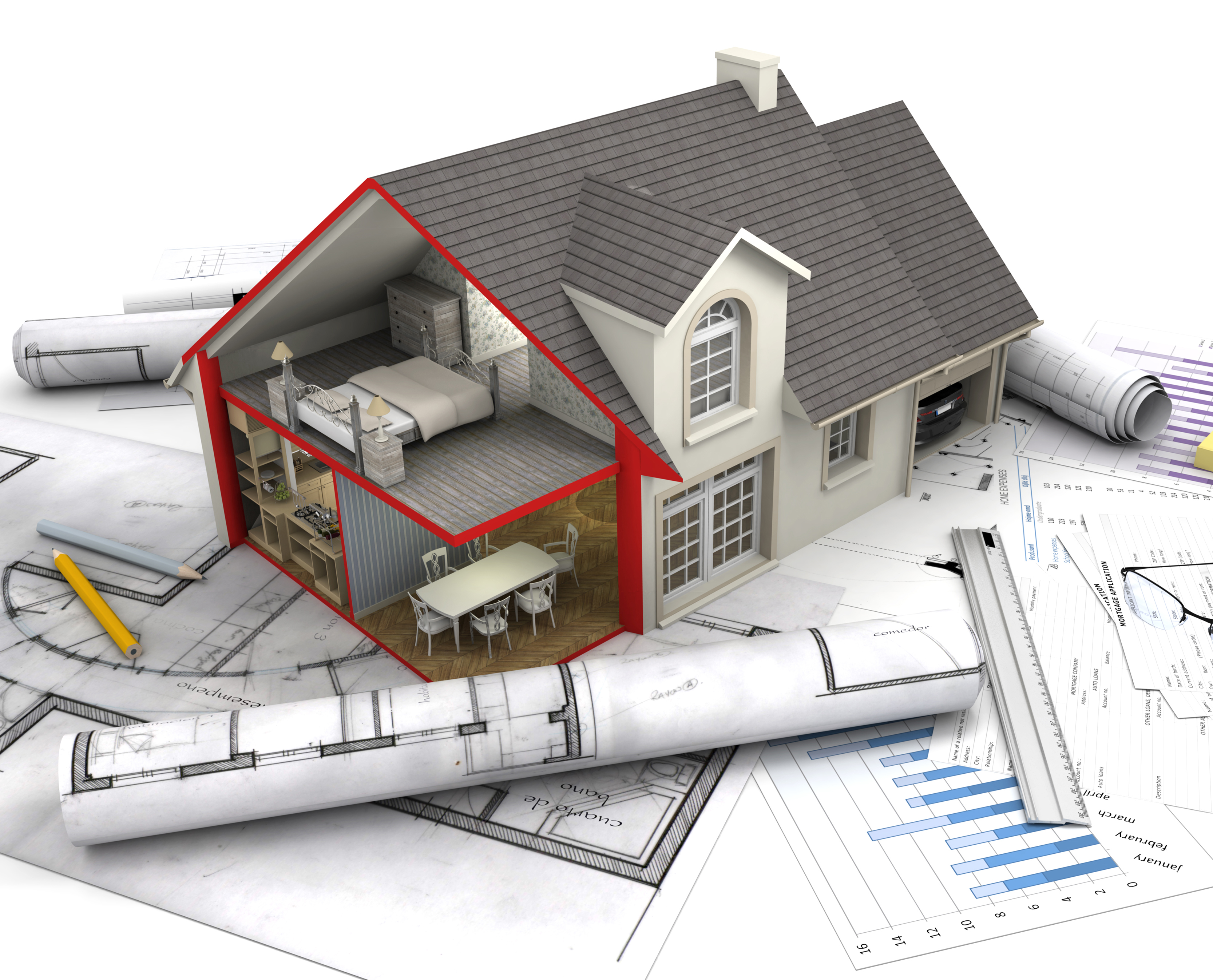 Planning home renovation house design plans for Renovation drawings