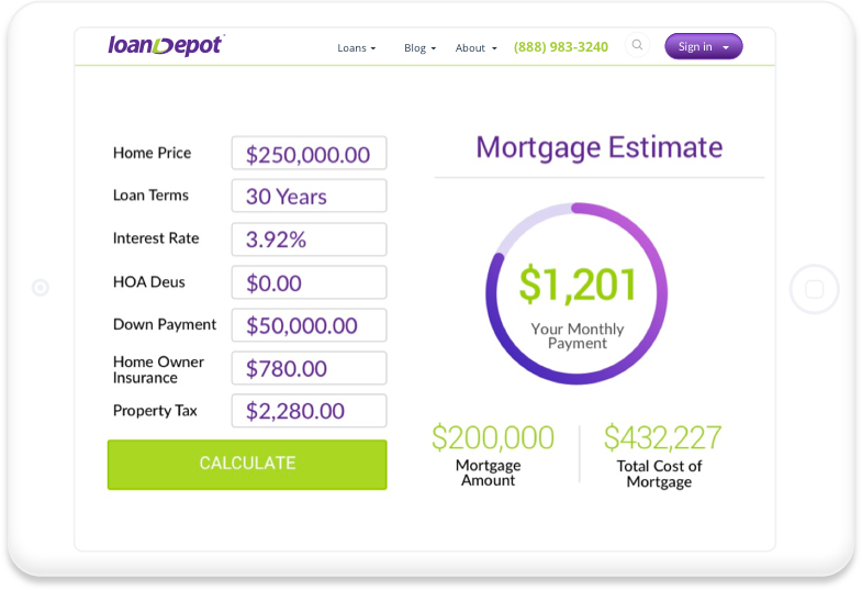 loanDepot | Home Mortgage, Refinance, Equity, and Personal Loans