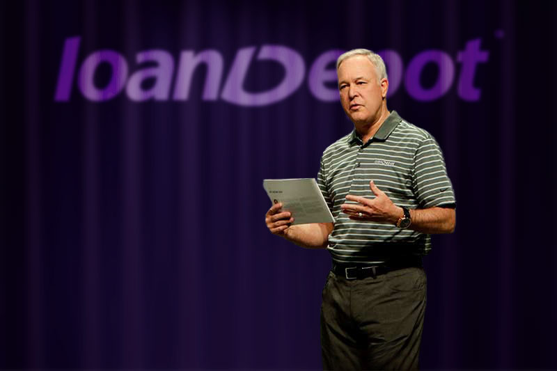 loanDepot Dan Hanson leadership in the weeds