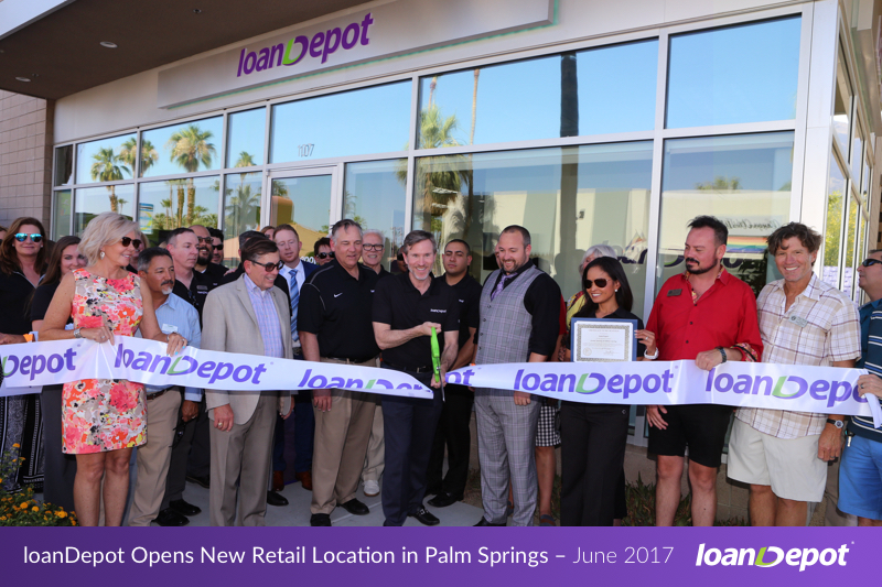 loanDepot Palm Springs Retail Grand Opening