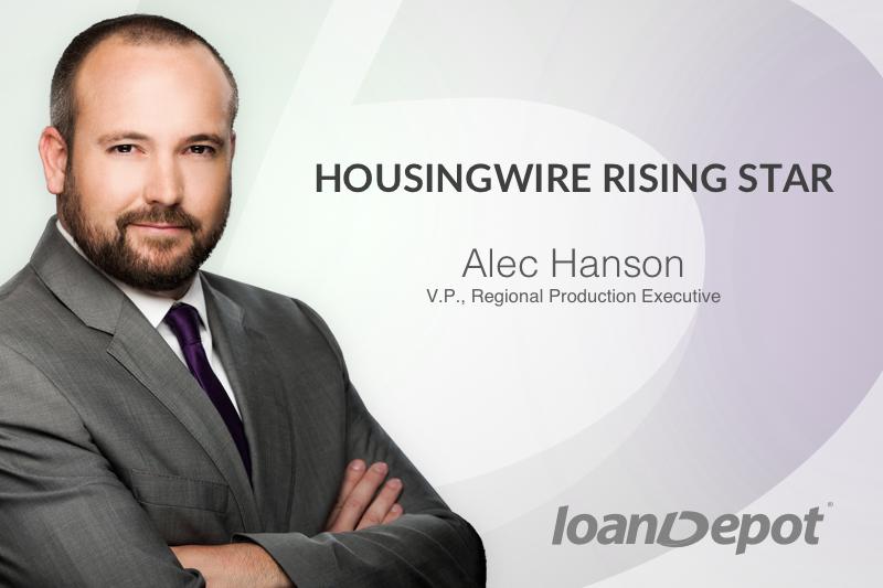Alec Hanson HousingWire Rising Star 2017