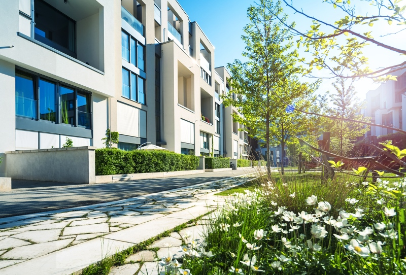 urban dwelling exterior